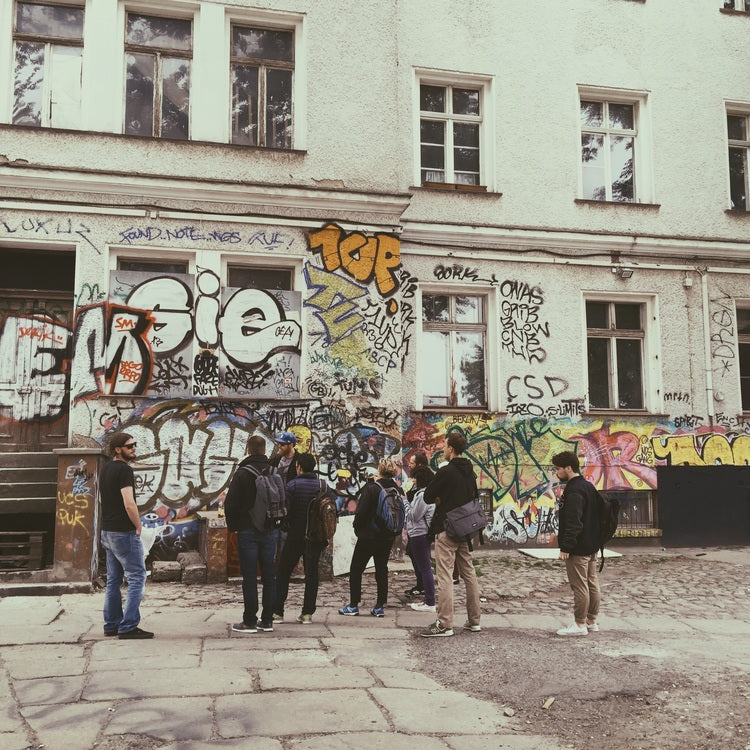 Street Art Workshop & Tour in Berlin