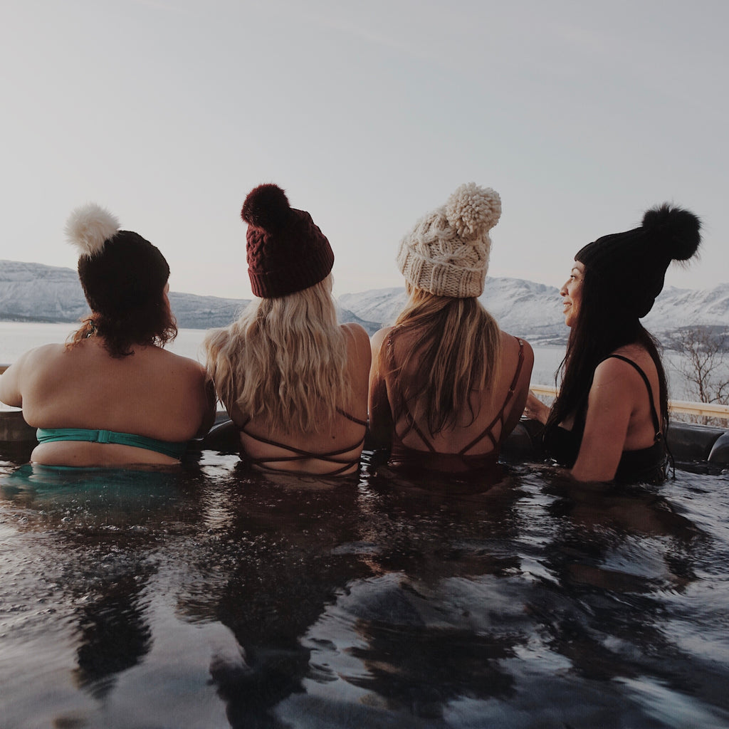 Hot tubbing in Norway