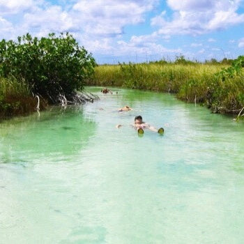 MEXICO - SIAN KA'AN BIOSPHERE - MUYIL - FLOATING EXPERIENCE