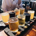 Craft beer samples in Tijuana