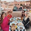 Lunch with views in Marrakesh Morocco