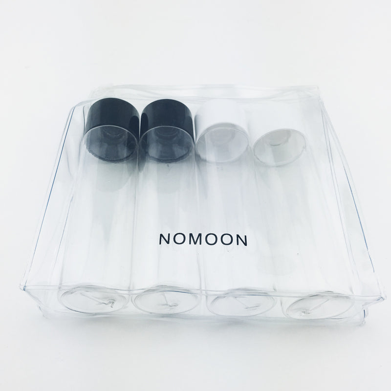 TSA Approved 100ml travel bottles set with clear case by Nomoon