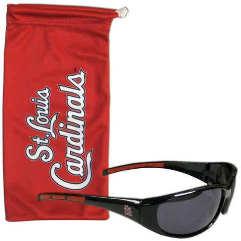 St. Louis Cardinals Sunglass and Bag Set