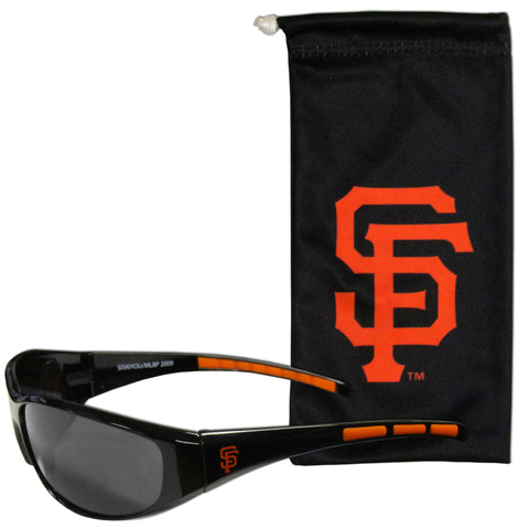 San Francisco Giants Sunglass and Bag Set