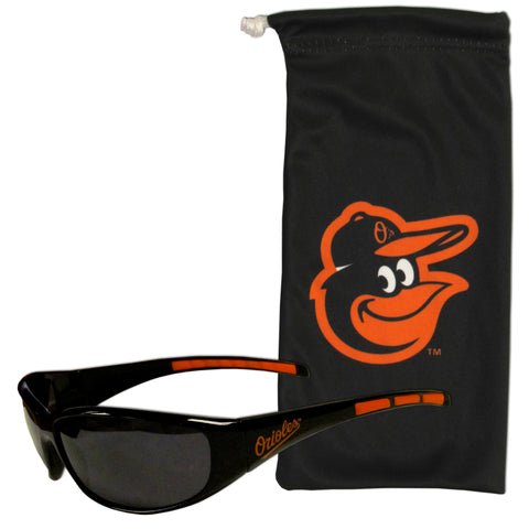 Baltimore Orioles Sunglass and Bag Set