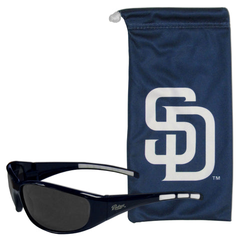 San Diego Padres Sunglass and Bag Set