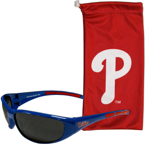 Philadelphia Phillies Sunglass and Bag Set