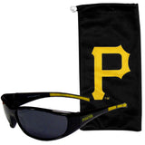 Pittsburgh Pirates Sunglass and Bag Set