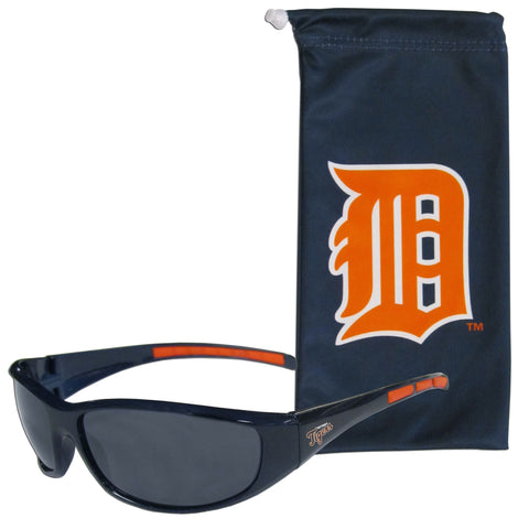 Detroit Tigers Sunglass and Bag Set