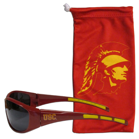 USC Trojans Sunglass and Bag Set