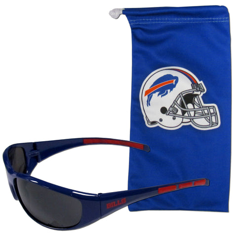Buffalo Bills Sunglass and Bag Set