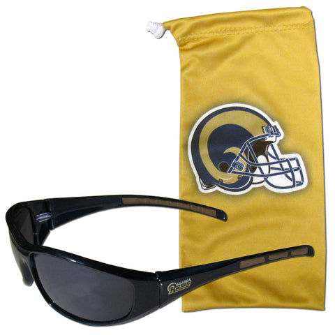 St. Louis Rams Sunglass and Bag Set