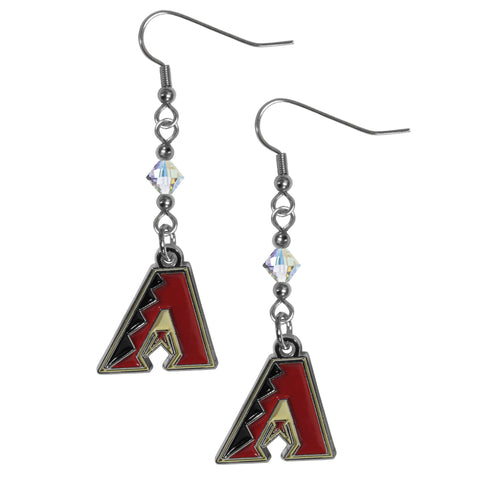 Arizona Diamondbacks Crystal Dangle Earrings
