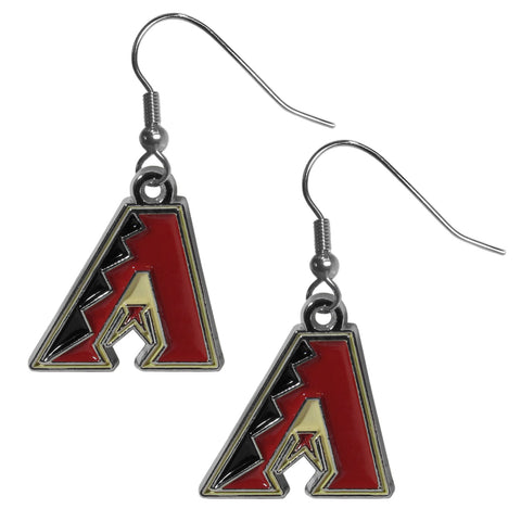 Arizona Diamondbacks Chrome Dangle Earrings