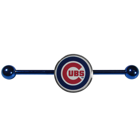Chicago Cubs Industrial Slider Barbell