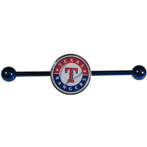 Texas Rangers Industrial Slider Barbell