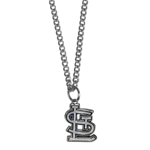 St. Louis Cardinals Chain Necklace with Small Charm