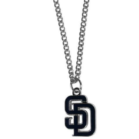 San Diego Padres Chain Necklace with Small Charm