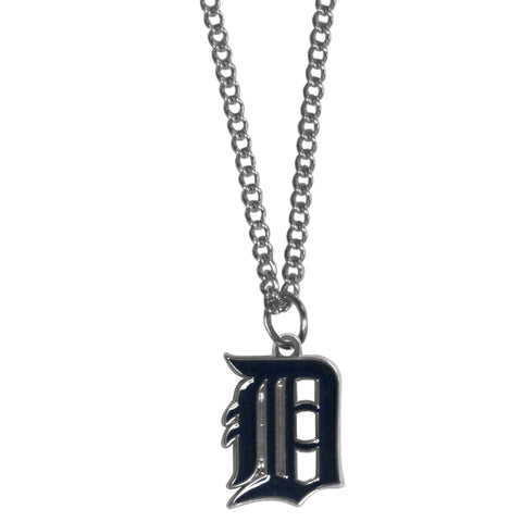Detroit Tigers Chain Necklace with Small Charm