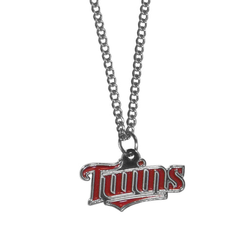 Minnesota Twins Chain Necklace with Small Charm
