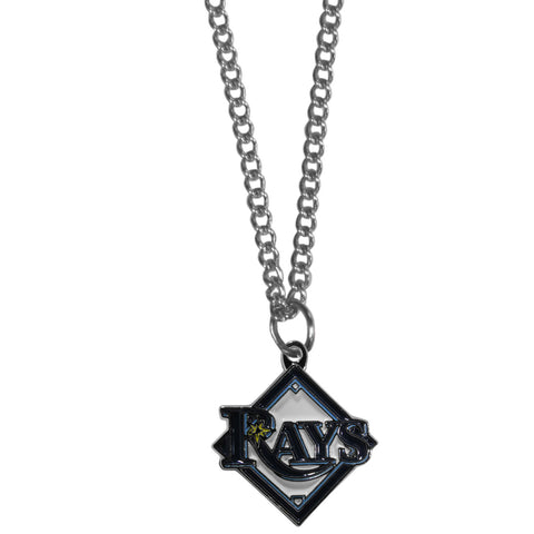 Tampa Bay Rays Chain Necklace with Small Charm