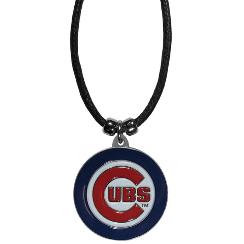 Chicago Cubs Cord Necklace