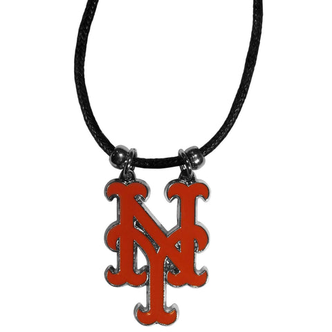 New York Mets Cord Necklace