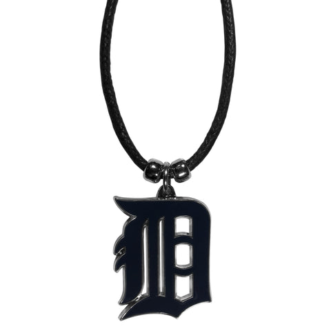 Detroit Tigers Cord Necklace