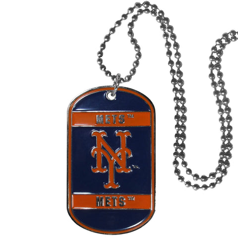 New York Mets Tag Necklace