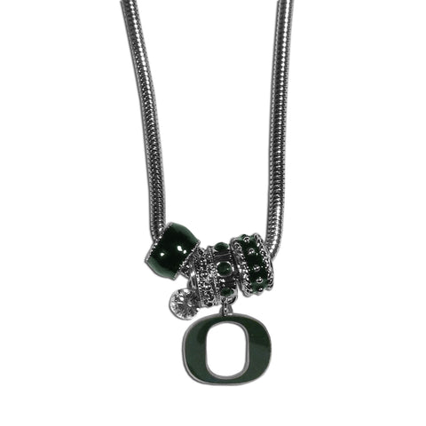 Oregon Ducks Euro Bead Necklace