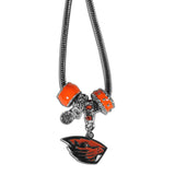 Oregon St. Beavers Euro Bead Necklace