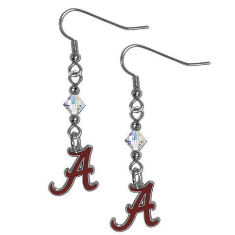 Alabama Crimson Tide Crystal Dangle Earrings
