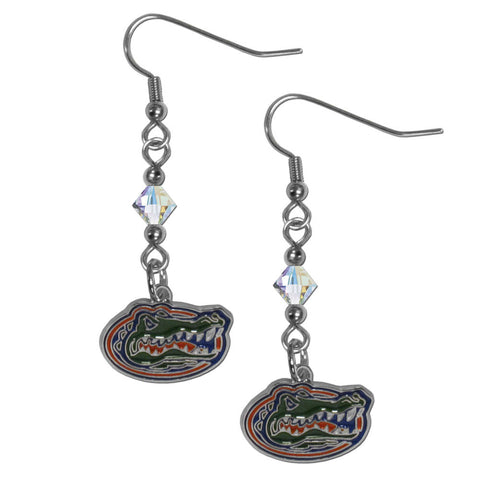 Florida Gators Crystal Dangle Earrings