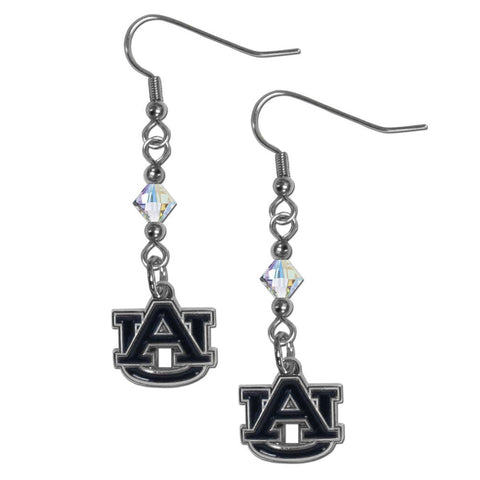 Auburn Tigers Crystal Dangle Earrings