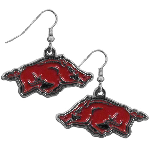 Arkansas Razorbacks Chrome Dangle Earrings
