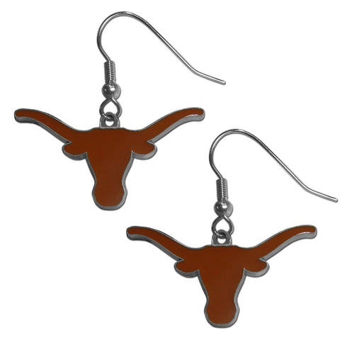 Texas Longhorns Dangle Earrings