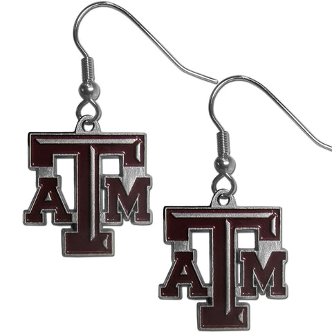 Texas A & M Aggies Dangle Earrings