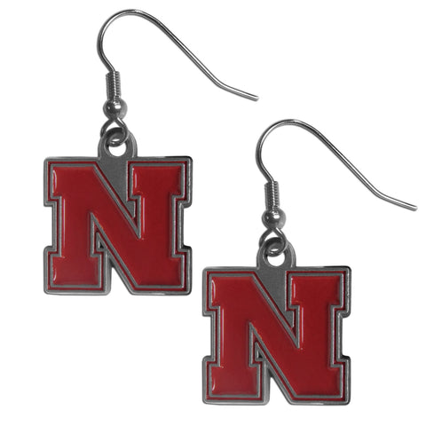 Nebraska Cornhuskers Dangle Earrings