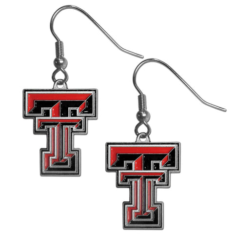 Texas Tech Raiders Dangle Earrings