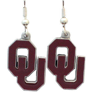 Oklahoma Sooners Dangle Earrings