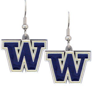 Washington Huskies Dangle Earrings