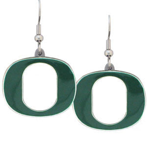 Oregon Ducks Dangle Earrings