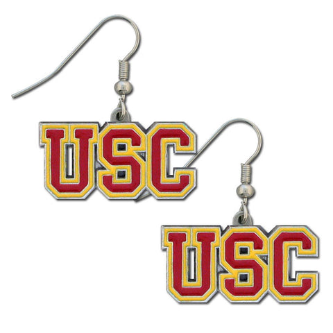 USC Trojans Dangle Earrings