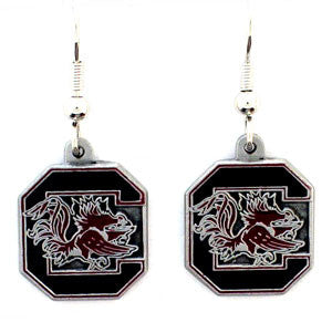 S. Carolina Gamecocks Dangle Earrings