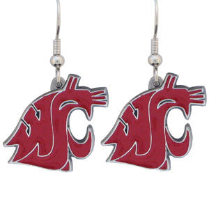 Washington St. Cougars Dangle Earrings