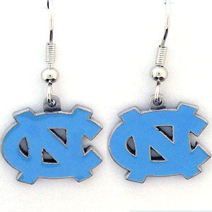 N. Carolina Tar Heels Dangle Earrings