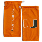 Miami Hurricanes Sunglass and Bag Set