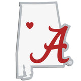 Alabama Crimson Tide Home State Decal