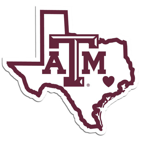 Texas A & M Aggies Home State Decal