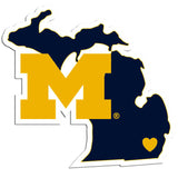 Michigan Wolverines Home State Decal